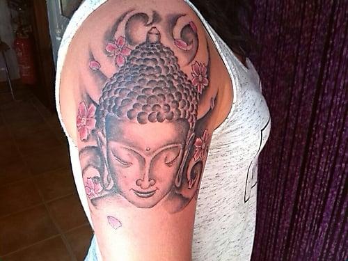 budha tattoo punta pelusa