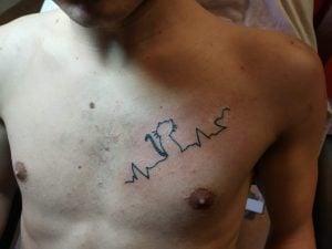 hartbeat tattoo punta pelusa crevillente