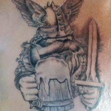 Viking Tattoo for Gerard.